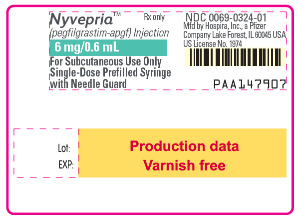 PRINCIPAL DISPLAY PANEL - 6 mg/0.6 mL Syringe Label